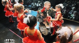 I'll be Home for Christmas – Travis Air Force Base Dad Surprises Daughter on stage at her Holiday Dance Recital
