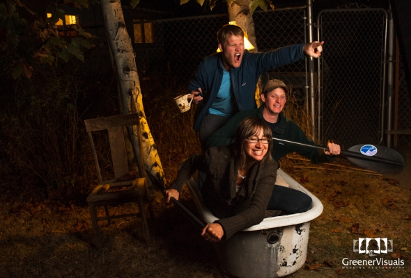 A Celebration of Fall - First Annual Apple Pressing Party Photo Booth in Bozeman, Montana