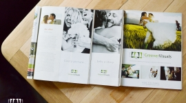 A Montana Wedding Magazine features Greener Visuals Wedding Photography in their new 2014 wedding planning guide