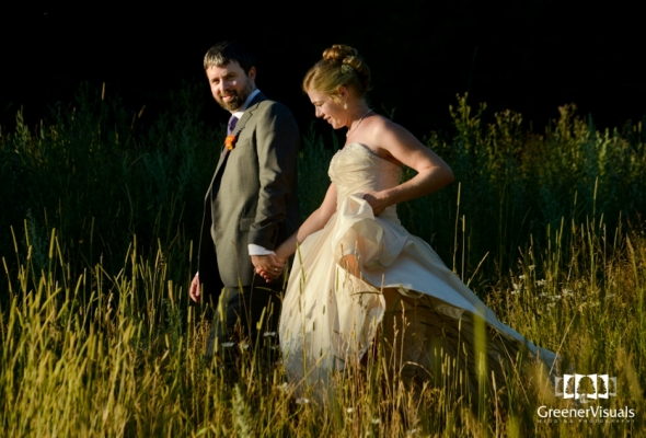Photography Review - Cierra & Brian's Montana Wedding at the Cougar Trail Ranch in Bigfork, Montana