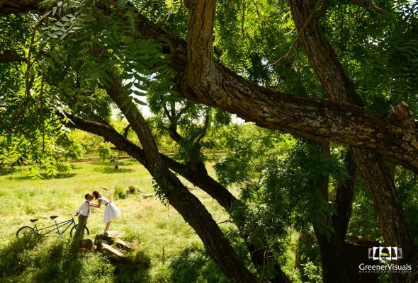 Emily & Matt's Springtime Davis California Wedding at UC Davis Arboretum