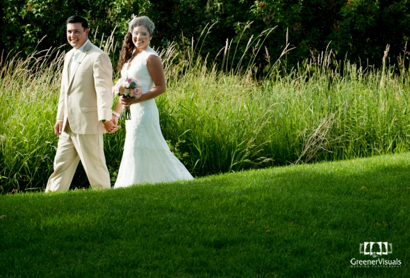 Hope & Jeffery's Idaho Country Garden Wedding near Idaho Falls