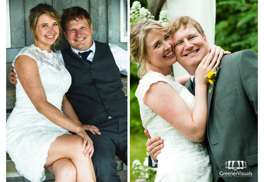 Eric & Brandy Wedding Day Photos in Hope, Alaska - Greener Visuals Wedding Photography