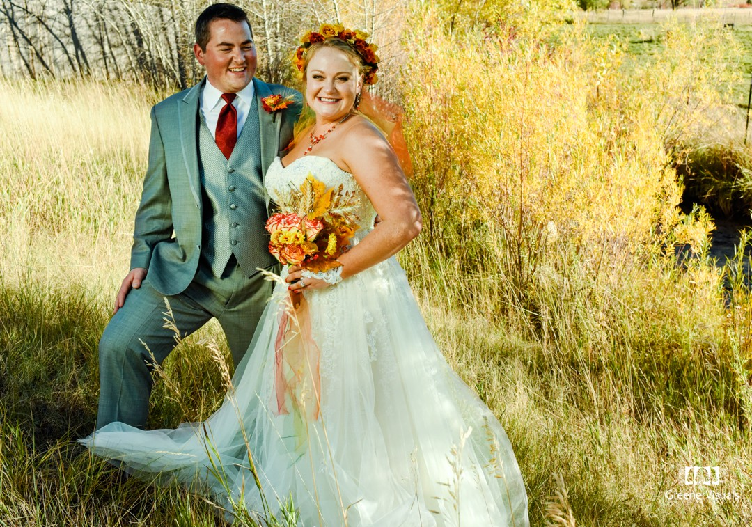 Broken Hart Ranch Fall Montana Wedding of Madeline and Chase