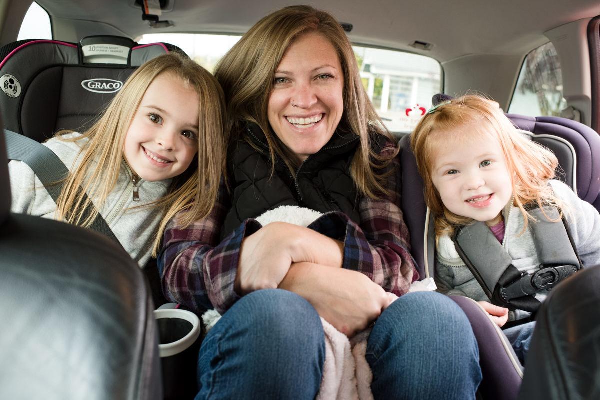 Bellingham Washington Mom Daughter Car ride
